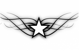Tribal Star Tattoo Designs for Women