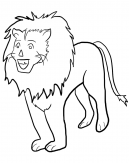 Lion Coloring Pages Sheets