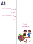You Are Having A Party! Invitations