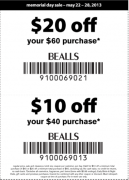 Bealls Printable Coupons