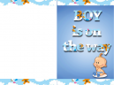 Baby Shower Invitations Boy Templates