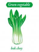 Green Vegetable - Bok Choy