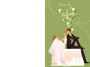 Wedding Invitations Green