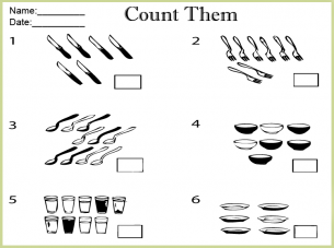 Printable Worksheets Counting