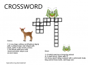 Animals Crossword Puzzles