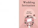 Wedding Invitations 'Just Married'