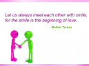 Quotes about Love by Mother Teresa
