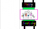 Family Day Greetings Cards