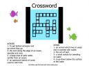 Crossword Puzzles Fishes