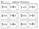 Another Addition Worksheet