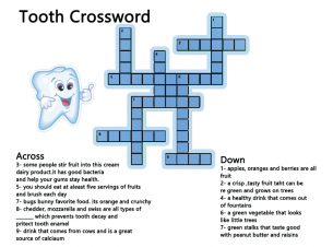 Crossword puzzles teeth health ccuart Image collections