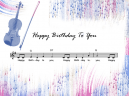 Piano Music Sheets Birthday Song