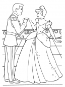 Princess Coloring Sheets Cinderella