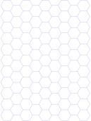 Hectagon Graph Paper