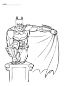 Batman wings Coloring Pages