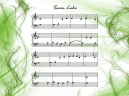Piano Music Sheets Swan Lake