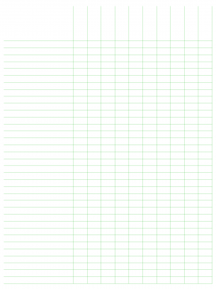 Resource image inside free printable spreadsheet with lines
