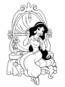 Coloring Pages Jasmine