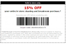 Staples 15 percent Off
