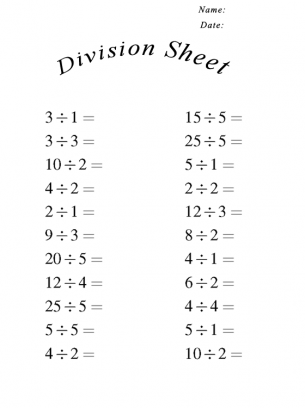 math worksheet : division sheets for math : Math Worksheet Division