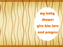 Baby Shower Invitations Brown