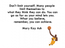 Inspirational Quotes Mary Kay Ash