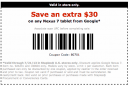 Staples 30 Off on tablet