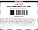 Staples 5 percent Off