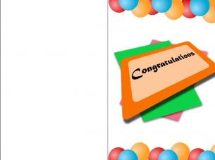 Greeting Cards Congrats