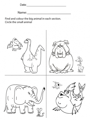 Worksheets for Family Activities