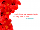 Love Quotes by HL Mencken