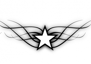 1d99531a4c90f Tribal Star Tattoo