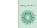 Printable Flower Birthday Card