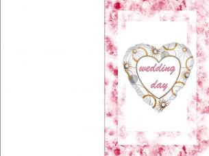 Wedding Day Printable Cards