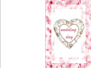Wedding Day Printable Cards