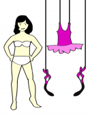 Bella Paper Doll Printable Crafts