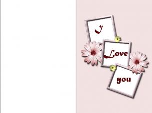 Love Printable Greeting Cards