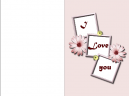 Love Printable Greeting Cards