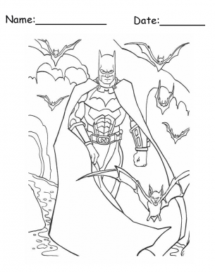 Batman Printables