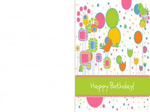 Printable 10th Birthday Cards