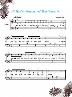 Play a Happy Tune Printable
