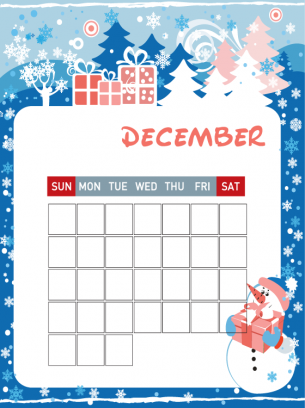 Calendar Worksheet for Kindergarten