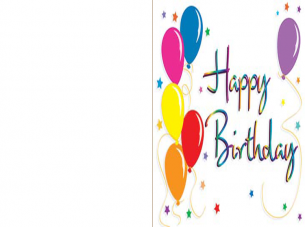 picture regarding Printable 40th Birthday Card named Printable 40th Birthday Card