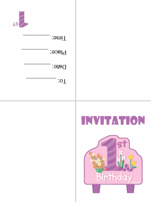 Printable Invitations Card