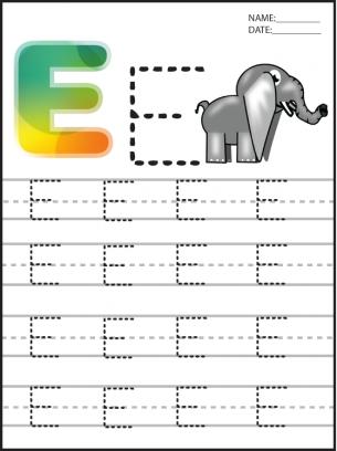 Number Names Worksheets preschool alphabet tracing : Number Names Worksheets : preschool alphabet tracing sheets ~ Free ...
