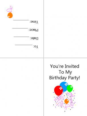 Free Sharing Invitation Cards