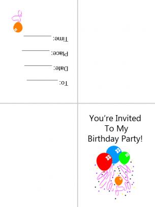 Free Sharing Invitation Cards