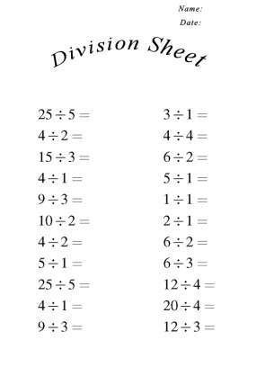 christmas division coloring sheets