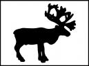 Free Printable Moose Template