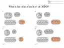 Money Counting Worksheets